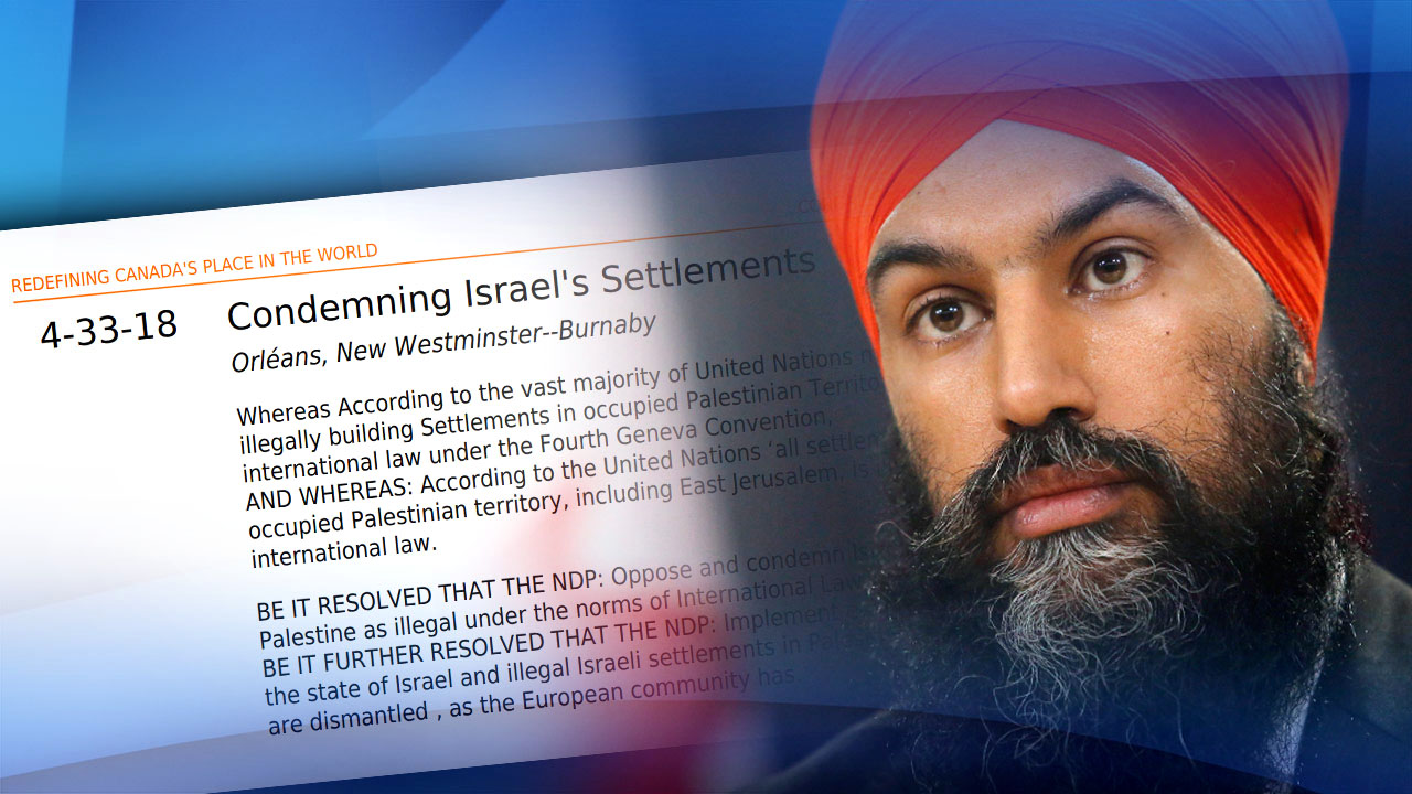 NDP activists conflate Israelis with Hamas terrorists