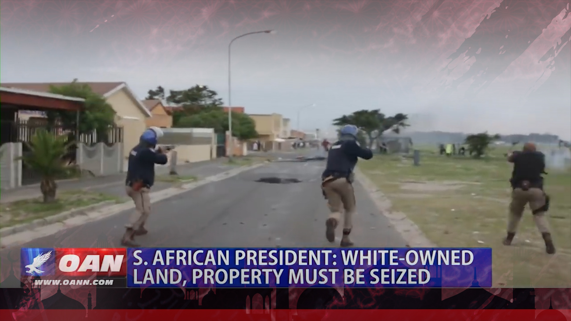 Top 10: South African president says white-owned land, property must be seized