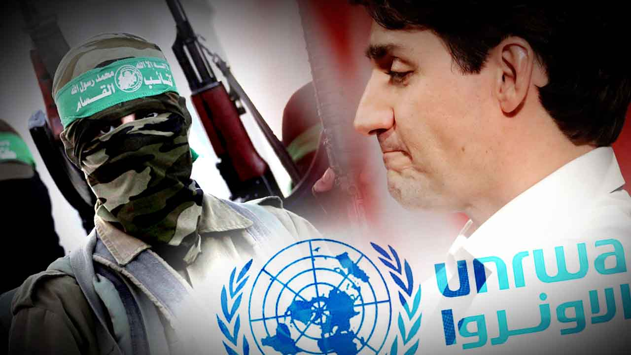 "Trudeau ""steps up"" to fund Hamas through UNRWA in shortfall left by Trump"