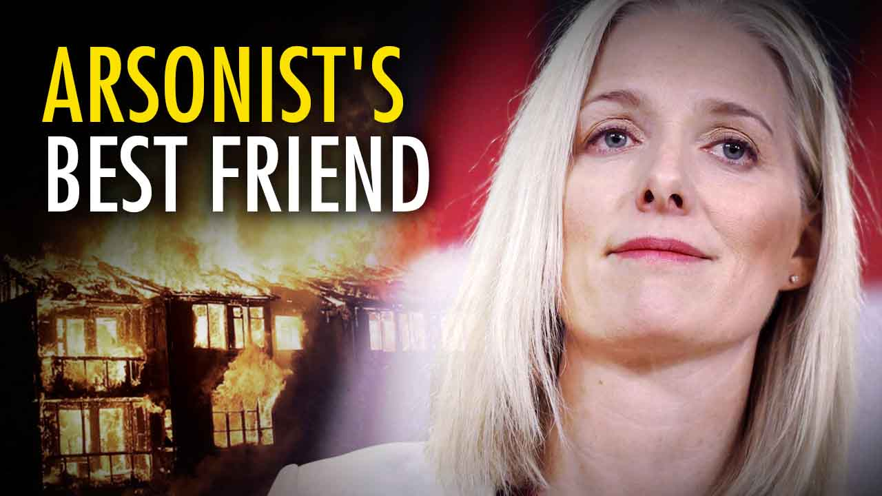 McKenna runs cover for arsonist who set BC wildfires — blames climate change instead