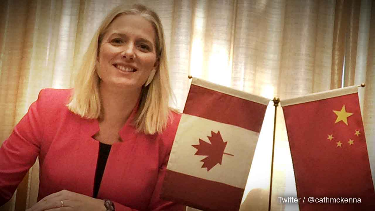 Catherine McKenna joins communist Chinese environment council