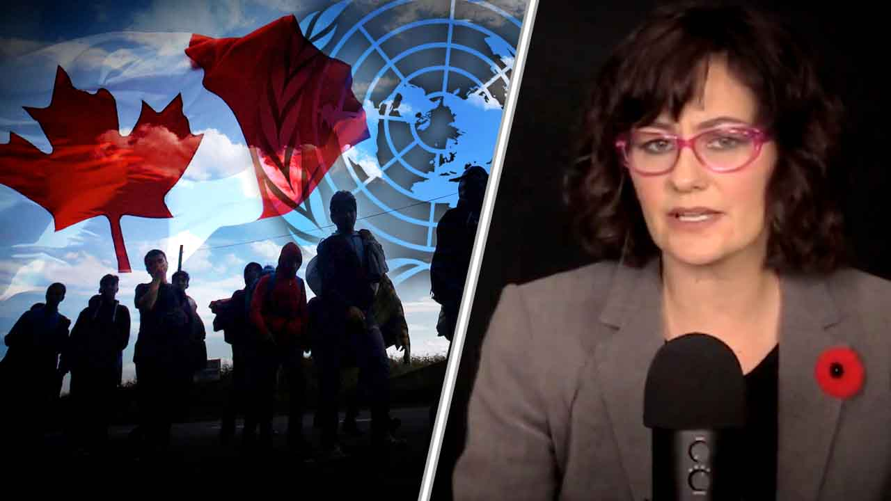 "Trudeau hands Canadian sovereignty to UN through migration ""compact"""