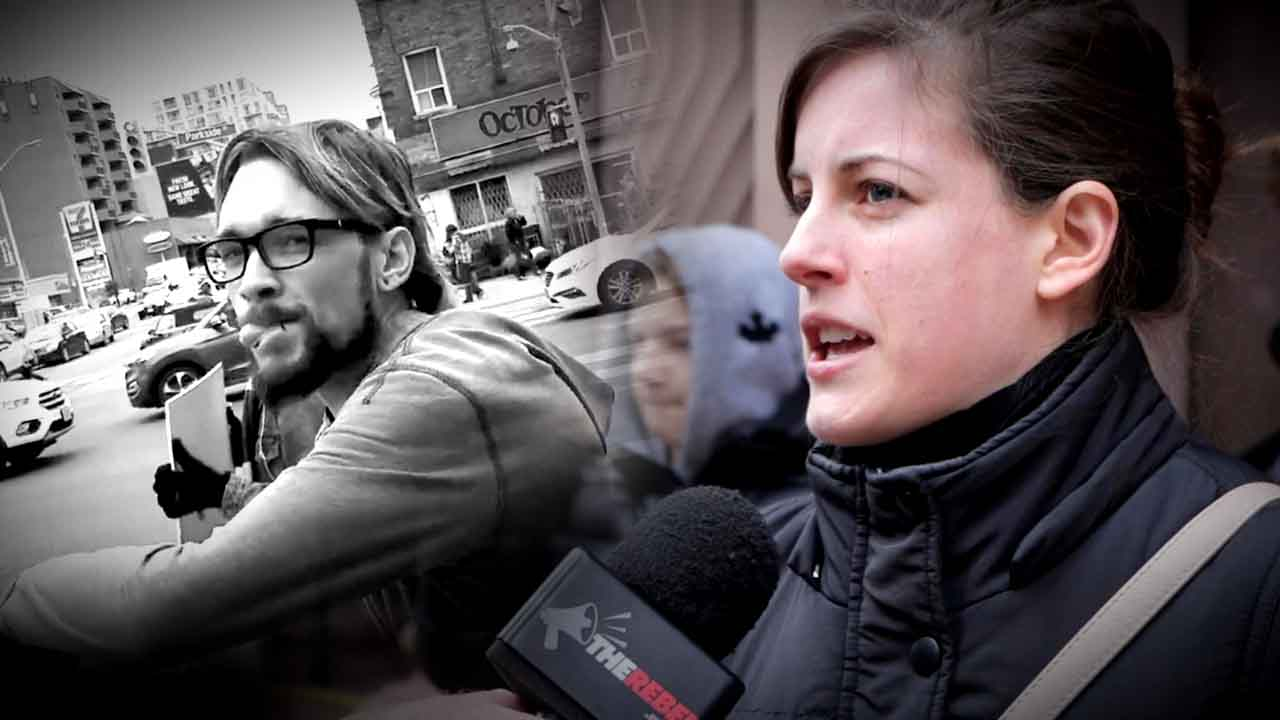 EXCLUSIVE: Pro-lifer assaulted in viral video speaks out — after CBC declined interview