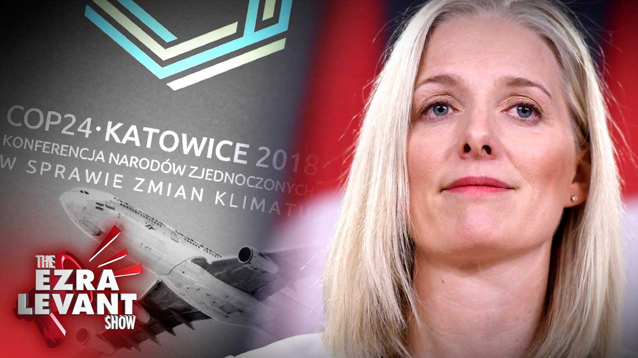 """Catherine McKenna is jetting to the global warming conference in Poland — with """"126 of her closest friends"""""""