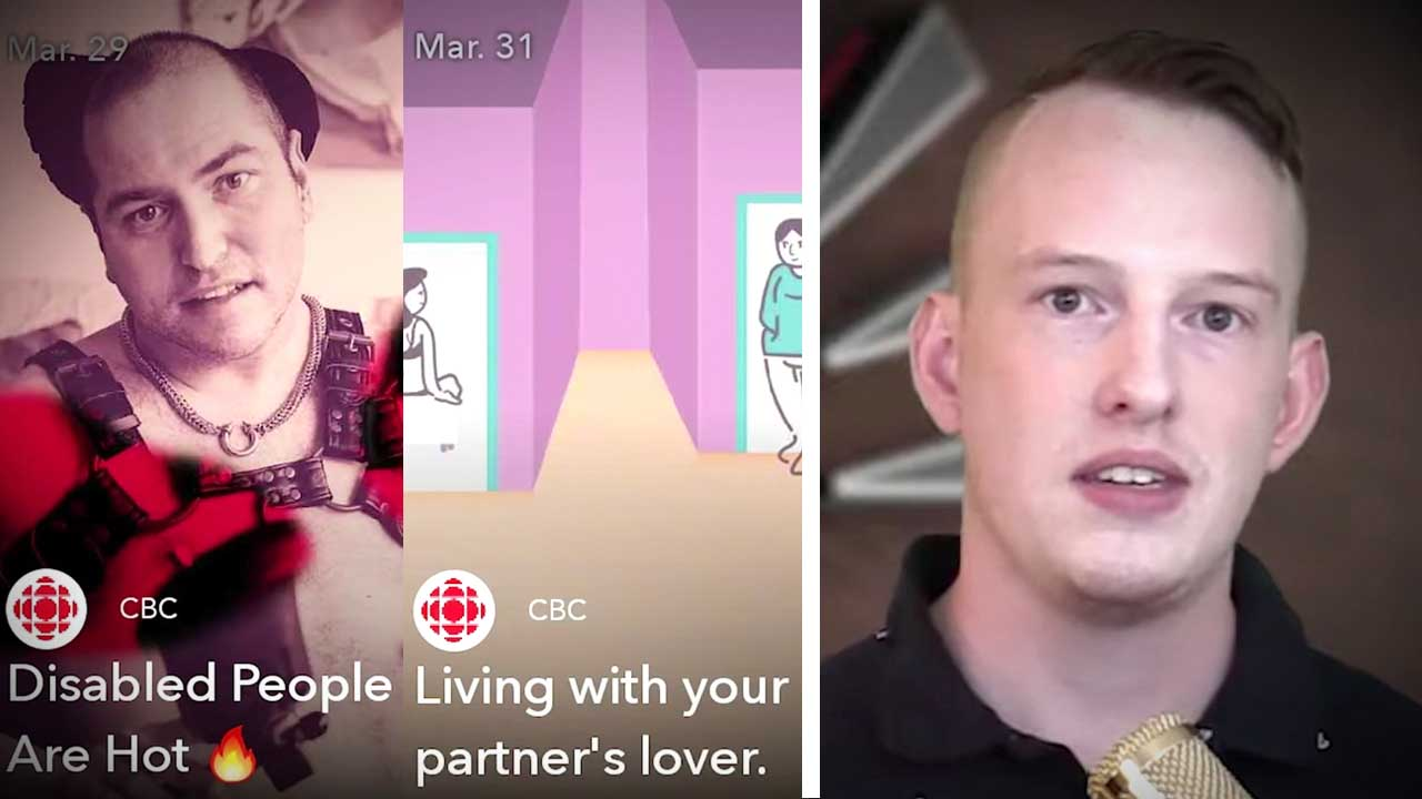 CBC takes to SnapChat to promote sex, drugs and polygamy