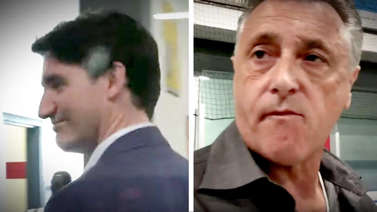 Trudeau staffer Terry Guillon bullies reporter at Indigenous Nations event