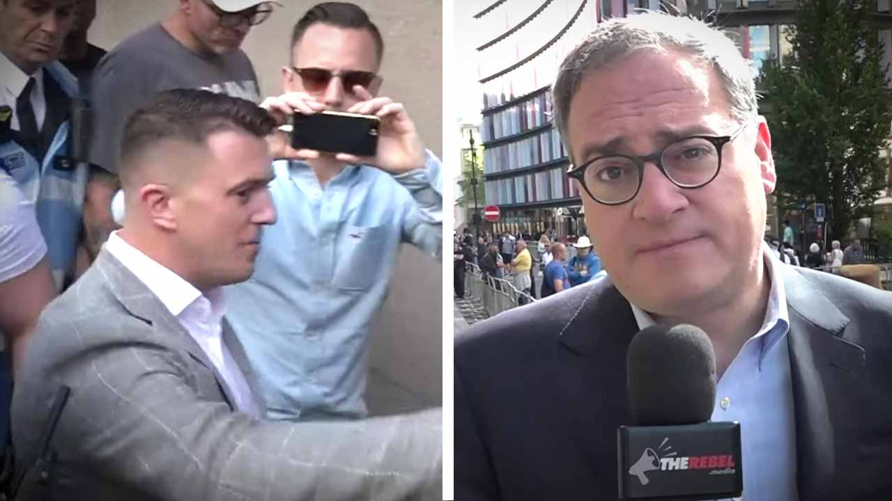 """Ezra Levant in London: """"Tommy Robinson's Case is Strong"""""""