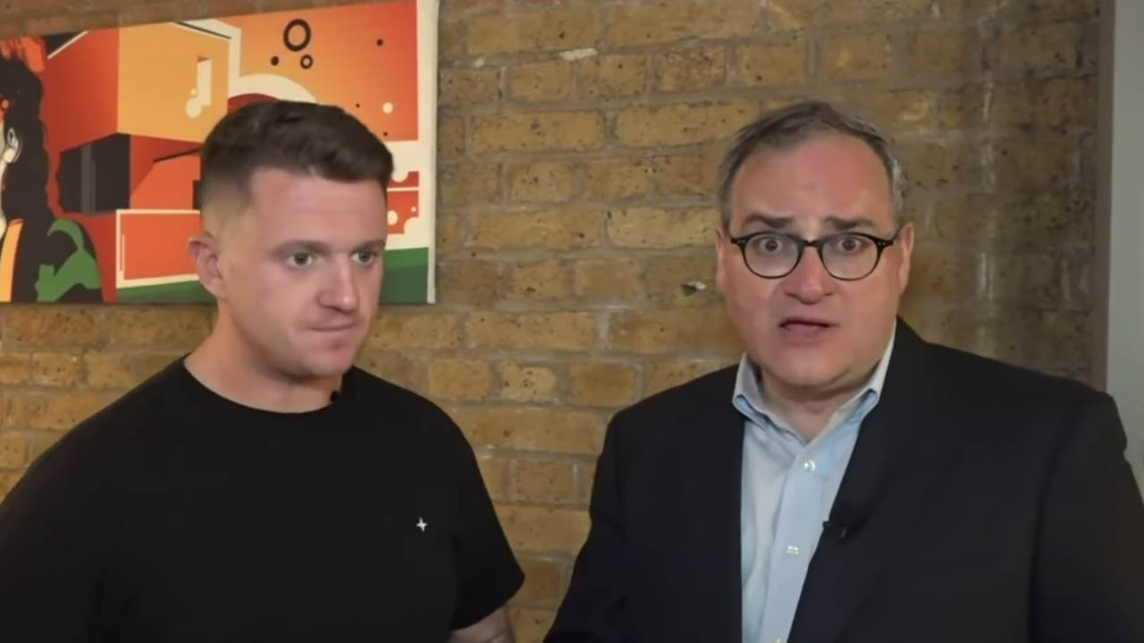 """Tommy Robinson Tells Ezra Levant: """"I've Committed No Crime"""""""