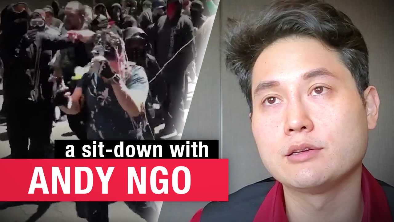 """Andy Ngo on political violence: """"It takes a lot of bravery to defend people who aren't popular"""""""