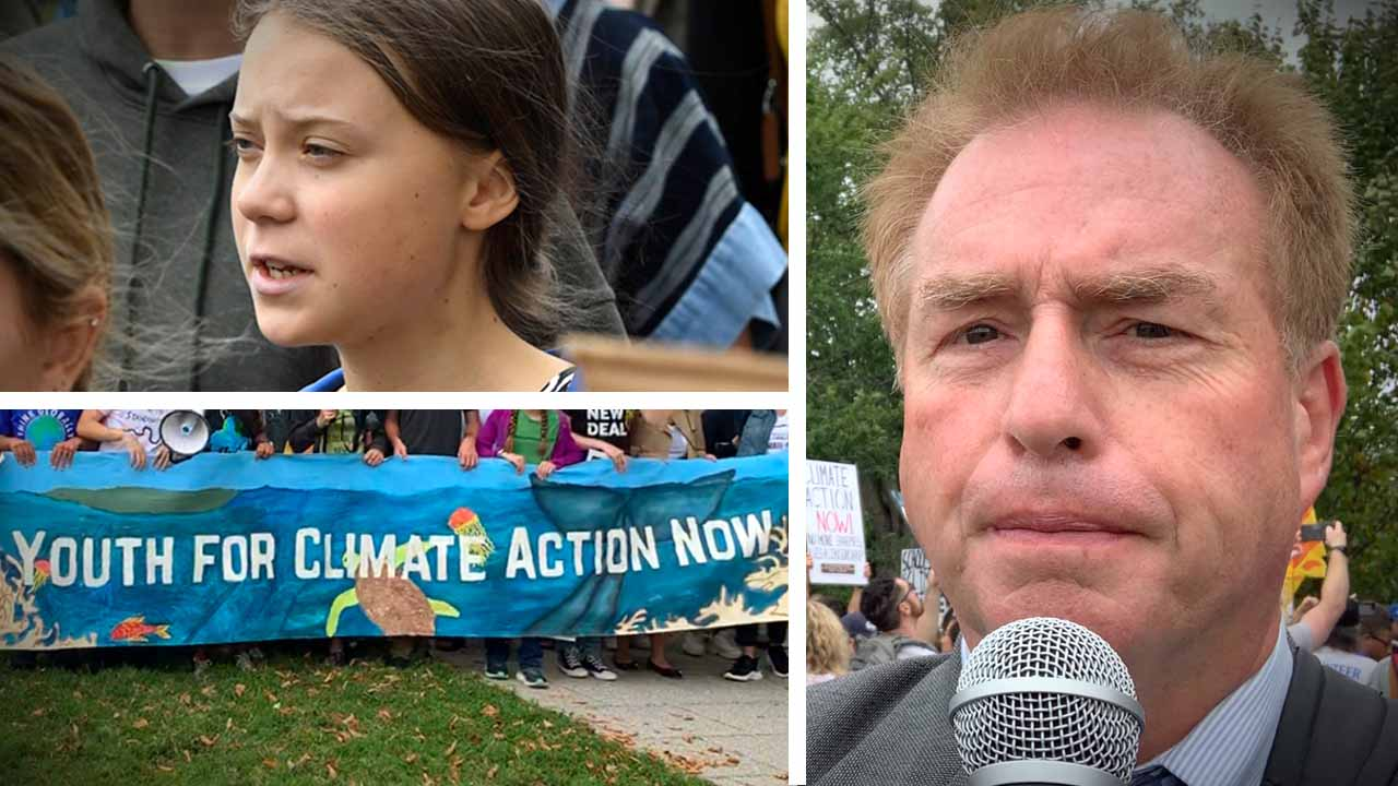 "The ""Dr. King"" of climate change: Greta Thunberg goes to Washington"