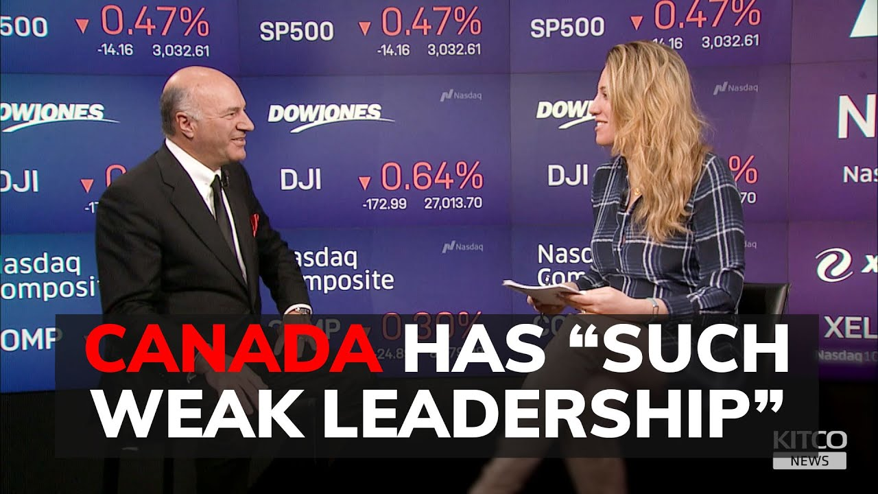 (WATCH) Canada is doomed under Trudeau and headed for a recession says Kevin O'Leary