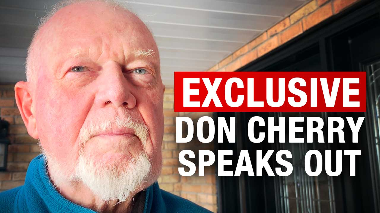 "Don Cherry speaks out on getting fired, Ron MacLean, and being ""a right-winger"""