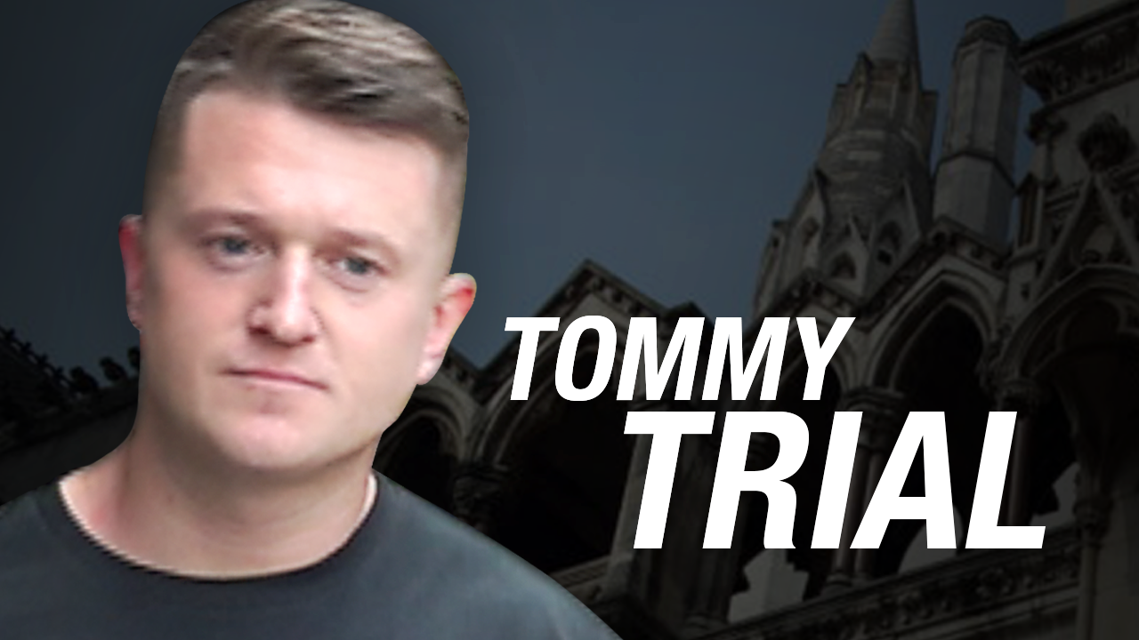 "Tommy Robinson back in court for ""bizarre, punitive"" libel case"