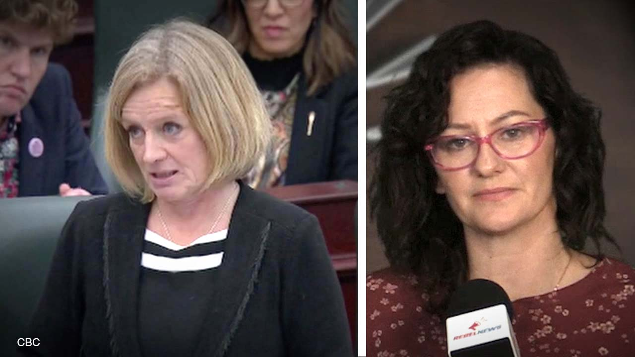 Rachel Notley's tantrum gets her thrown out of Question Period and straight to a CBC interview!