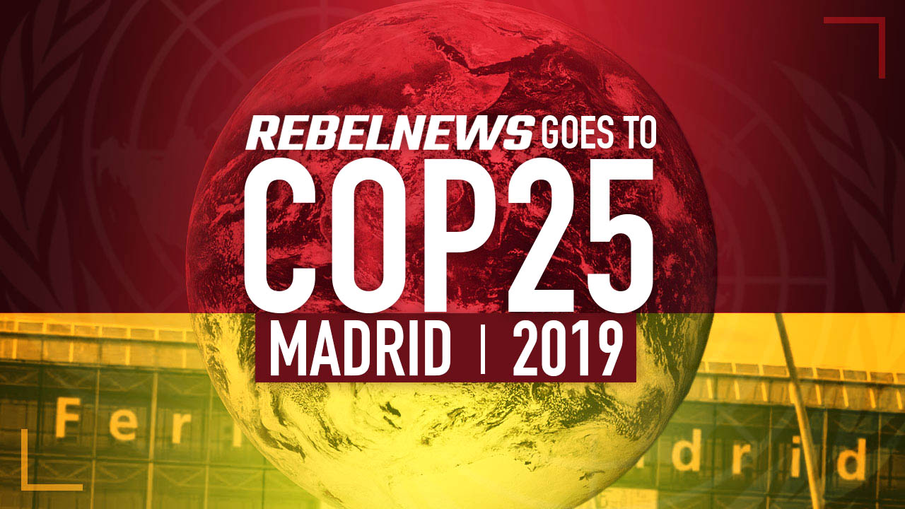 No Carbon Neutral Catamaran but Rebel News is going to Madrid for the United Nations climate conference