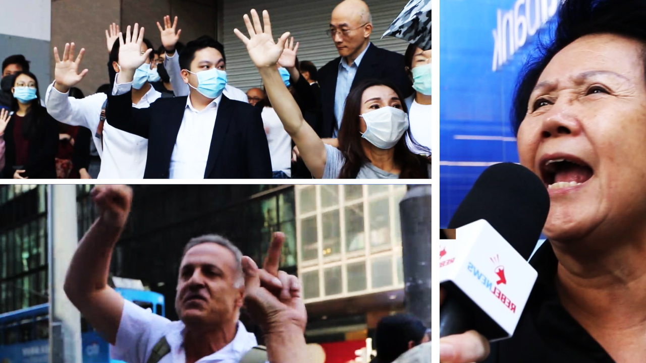 "Pro-China man blames CIA, Western media for Hong Kong protest: ""You guys are fascist!"""