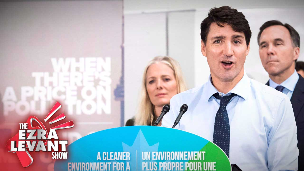 Andrew Lawton: Environmentalists hand excuse for higher carbon taxes to Trudeau