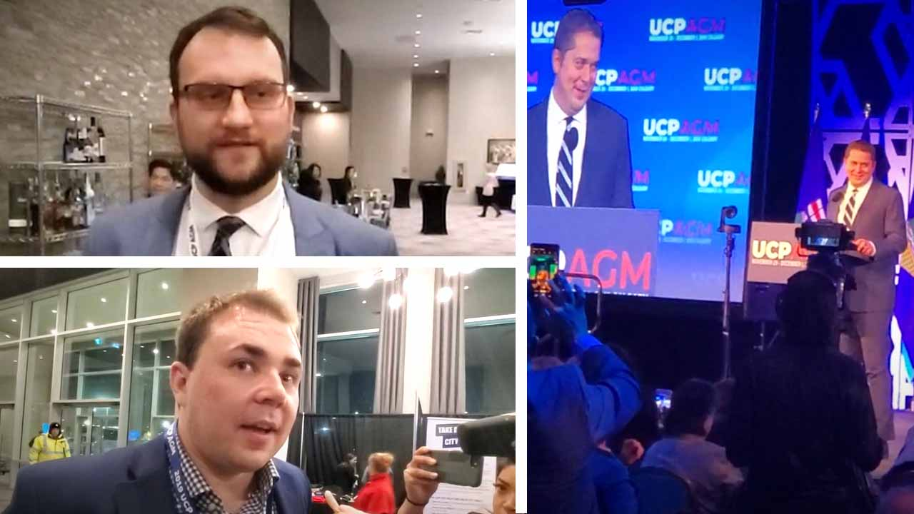 "Scheer isn't ""strong enough"" to beat Wexit: UCP members walk out of CPC leader's speech"