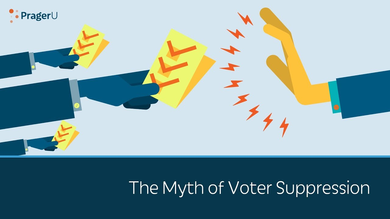 (WATCH) PragerU: The myth of voter suppression