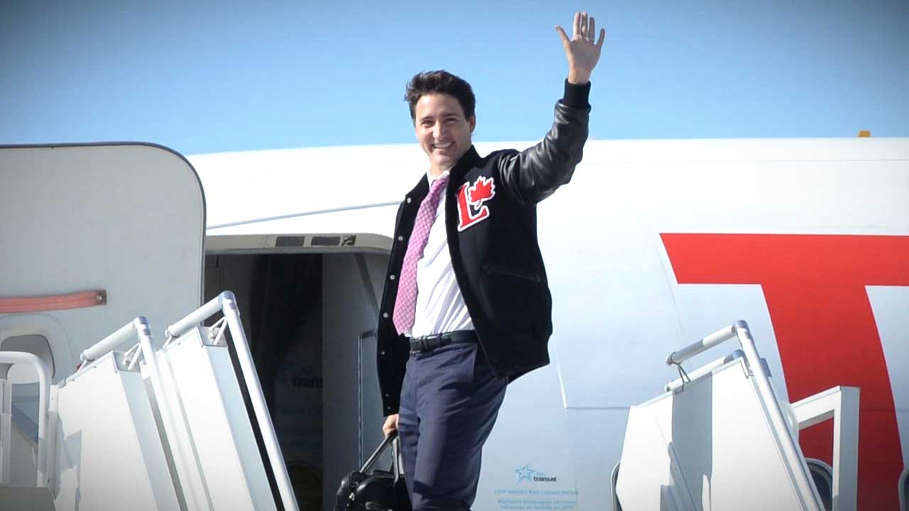 Trudeau spent $140,000 of your money on pre-election plane rides for photo ops