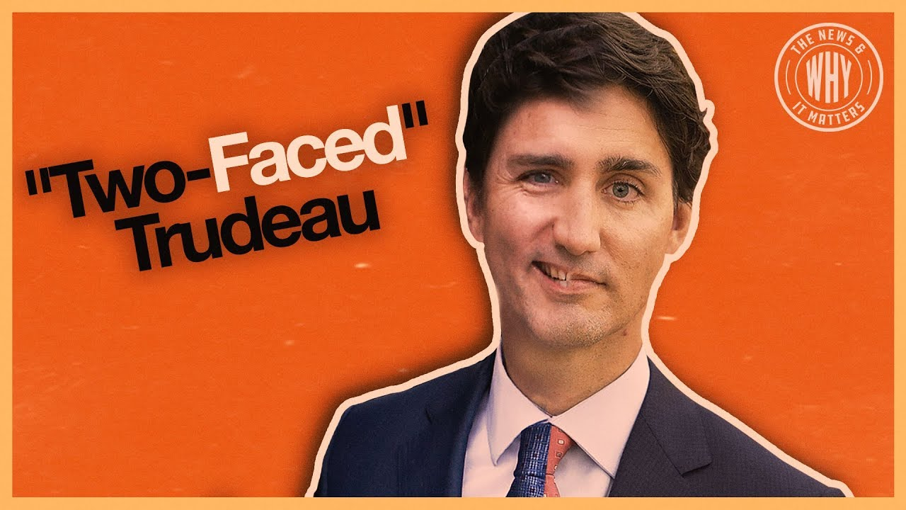 "(WATCH) BlazeTV: Justin ""Two-Faced"" Trudeau: Trump's new name for the Canadian Prime Minister"