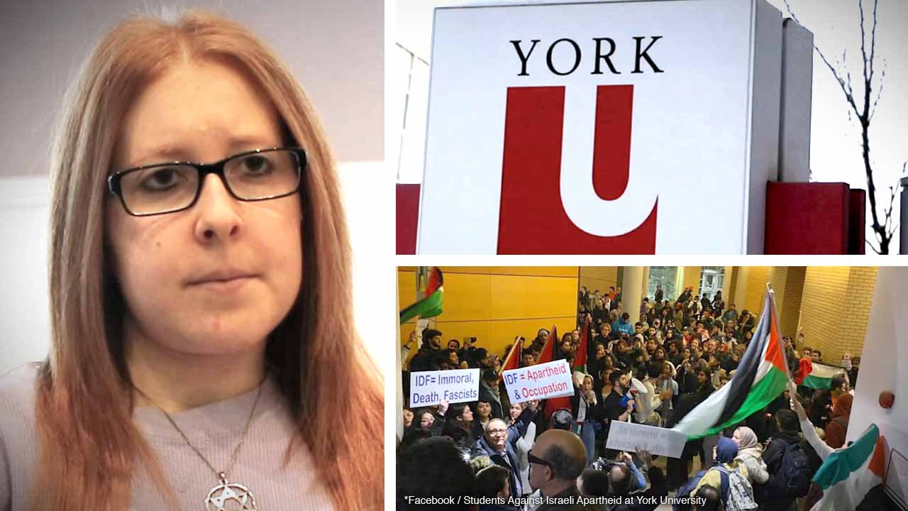 Interview with Herut Canada's Toronto director Lauren Isaacs: YorkU's reaction to the violent, antisemitic campus protest ends with punishing the Jewish students
