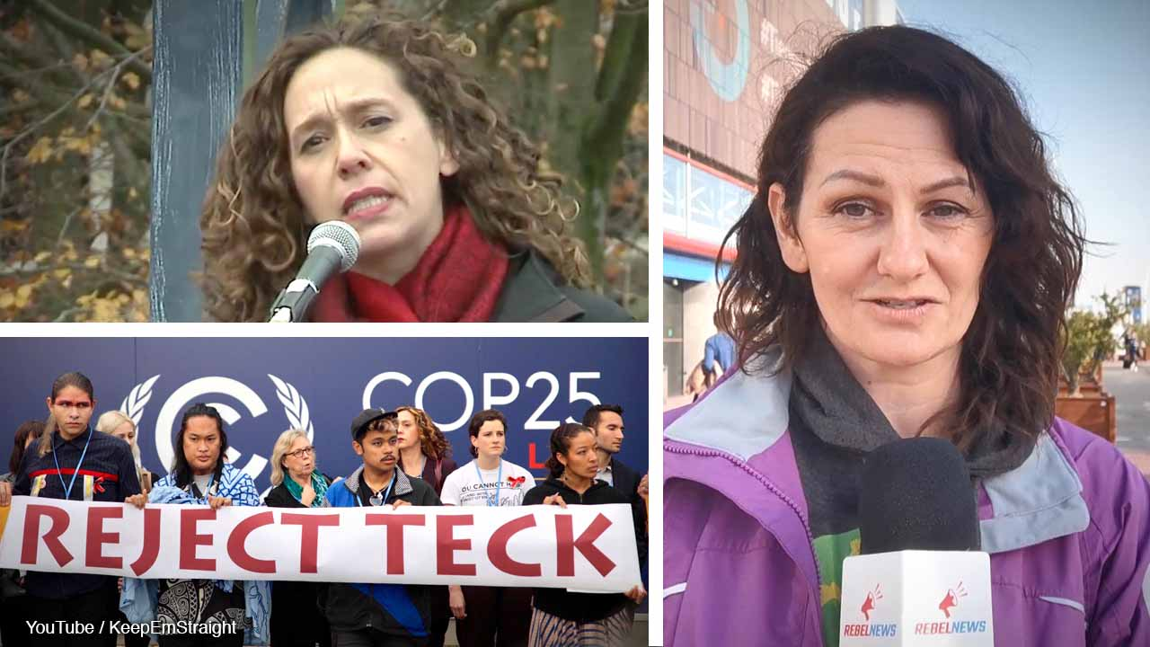 Canada's leading anti-oil champions Elizabeth May, Tzeporah Berman travel to UN conference in Madrid to protest our oil industry