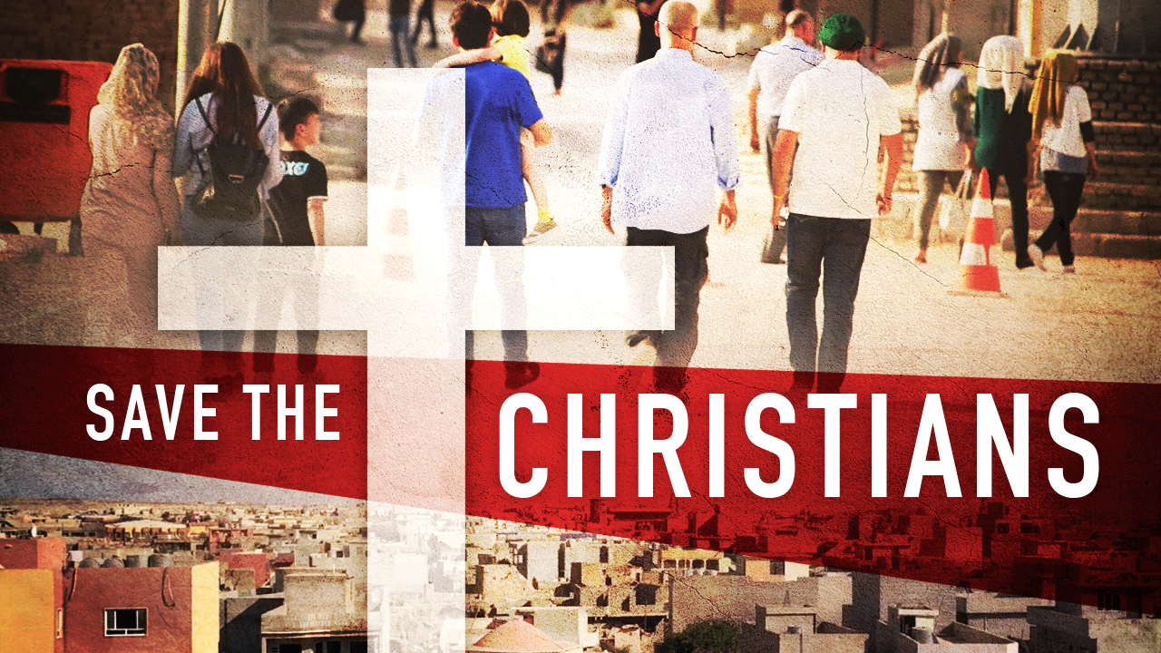 SAVE THE CHRISTIANS: Rebel goes to Iraq to document how your donations are saving lives