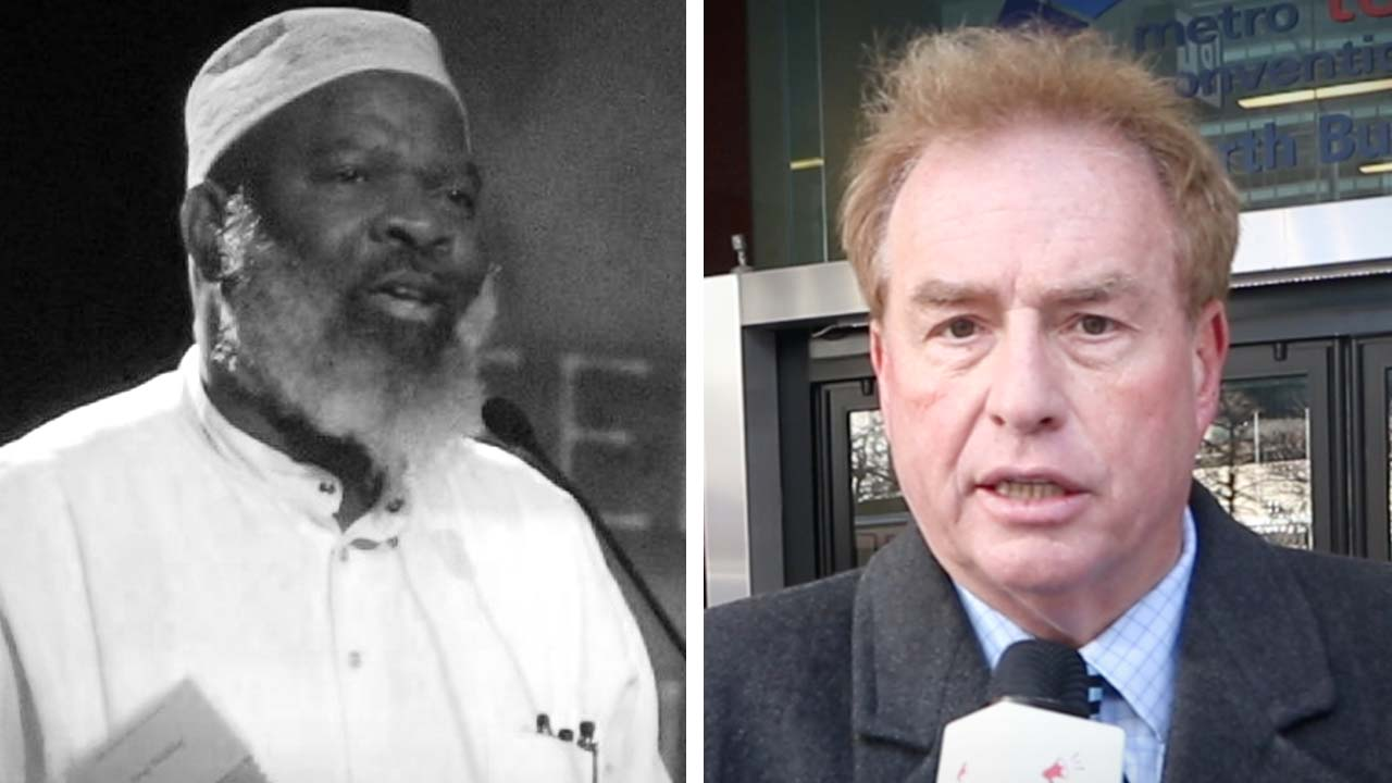 Sharia law is compatible with Canadian law? David Menzies speaks with Islamic event attendees