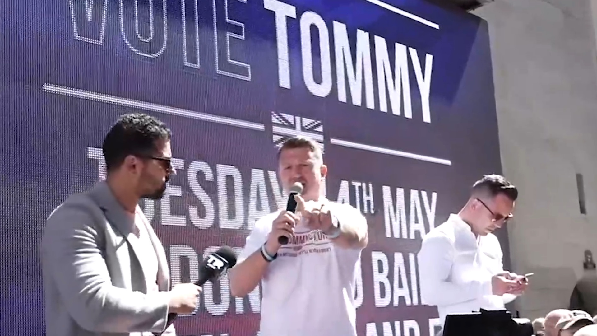 Best of 2019, Tommy Robinson edition: Charged with the crime of committing journalism