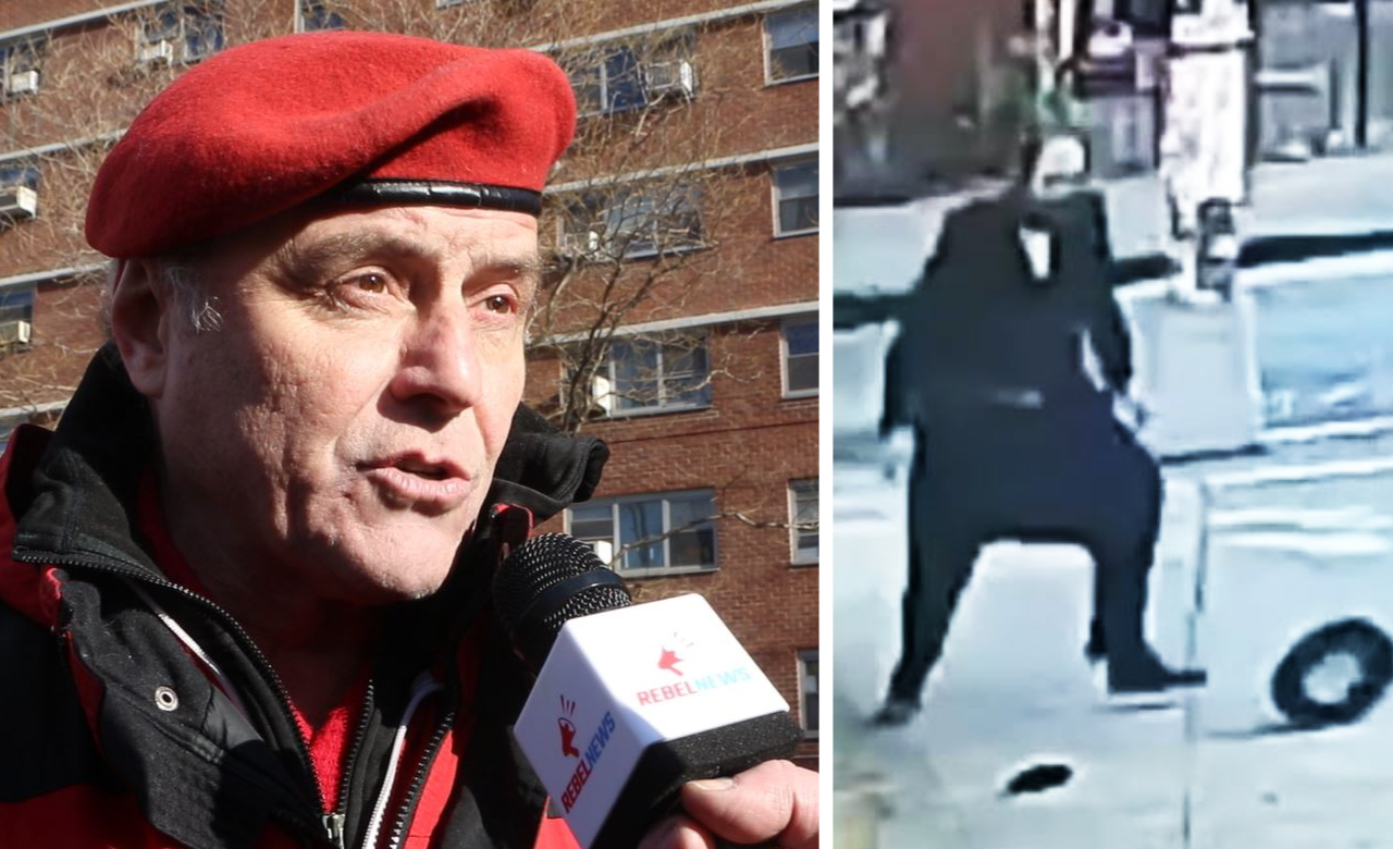 """""""Black antisemitism"""" to blame for attacks: Guardian Angels founder Curtis Sliwa at No Hate, No Fear rally in NYC"""