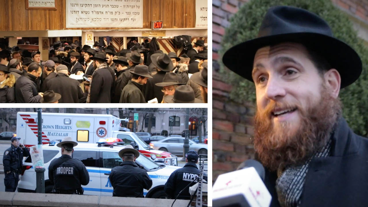 Rabbi Yoni Katz fights antisemitism in NYC with outreach and guided tours