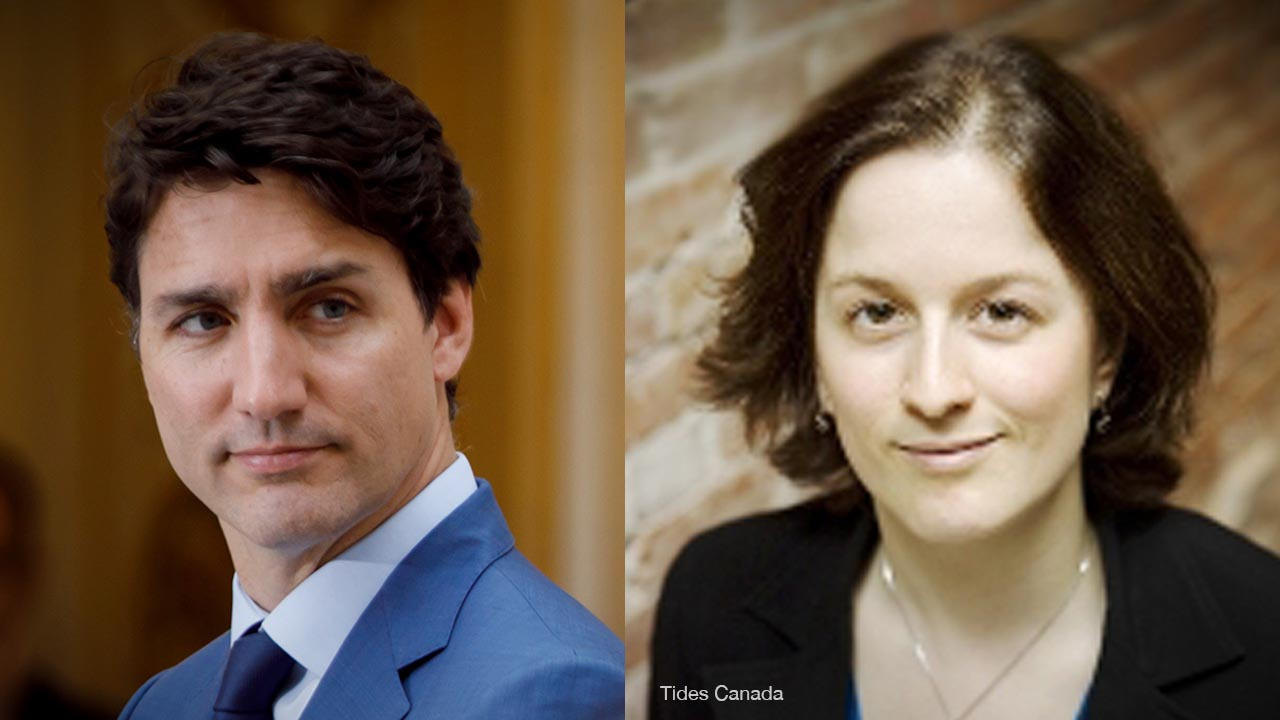 Former Tides Canada VP Sarah Goodman promoted to senior climate policy director under Trudeau