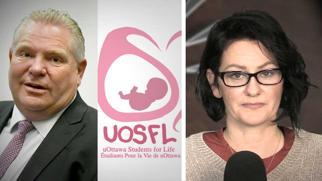 "Pro-life group loses official campus club status at U of Ottawa over ""principles"""