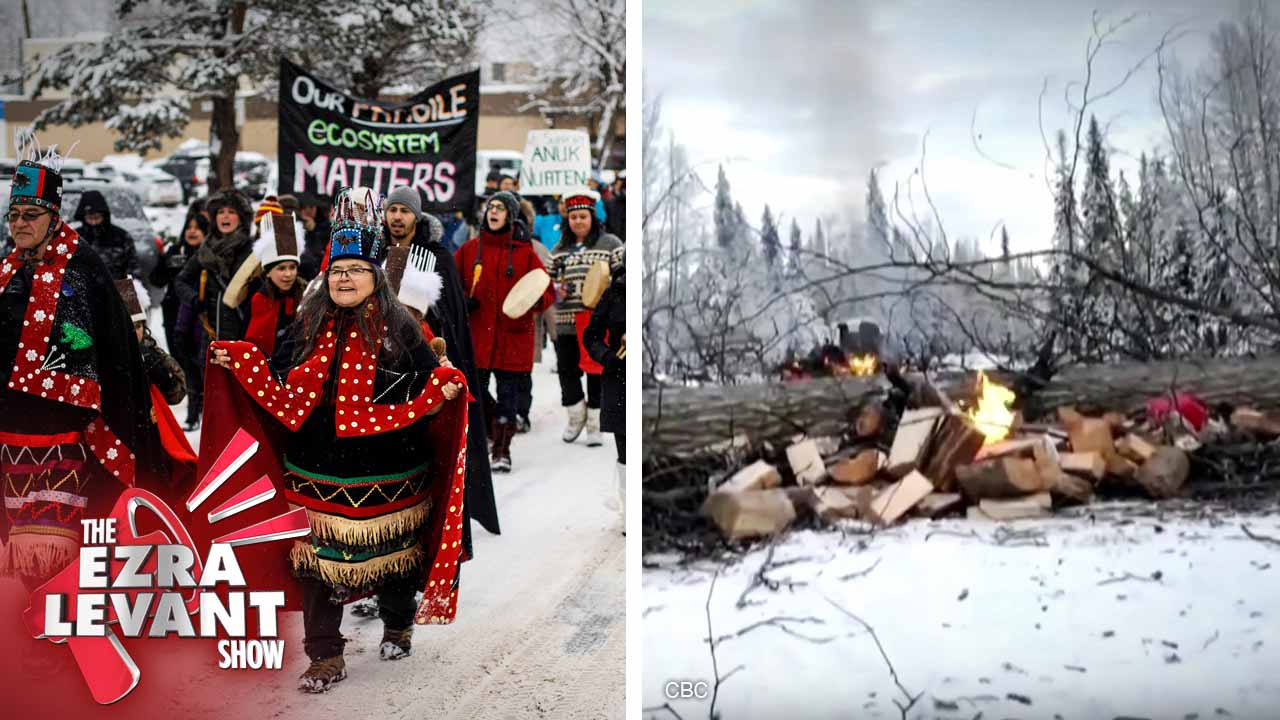Rebel heads north to cover the illegal Coastal GasLink pipeline blockade