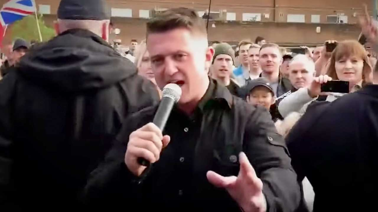 Tommy Robinson's winning a free speech prize! Rebel lands in Copenhagen, Denmark