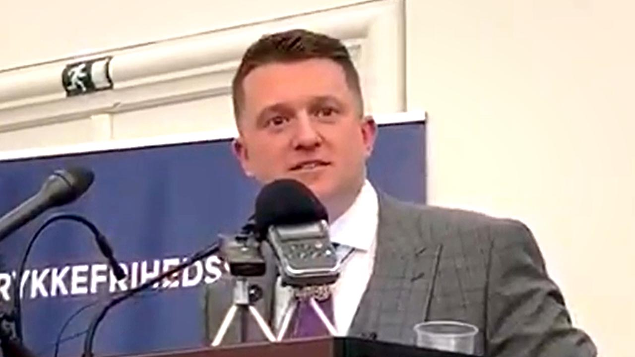 Tommy Robinson's acceptance speech at Free Press Society award ceremony in Denmark