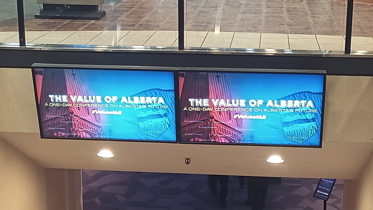 """""""Don't be afraid to pick a fight with Ottawa!"""" Dr. Ted Morton at the Value of Alberta Conference"""