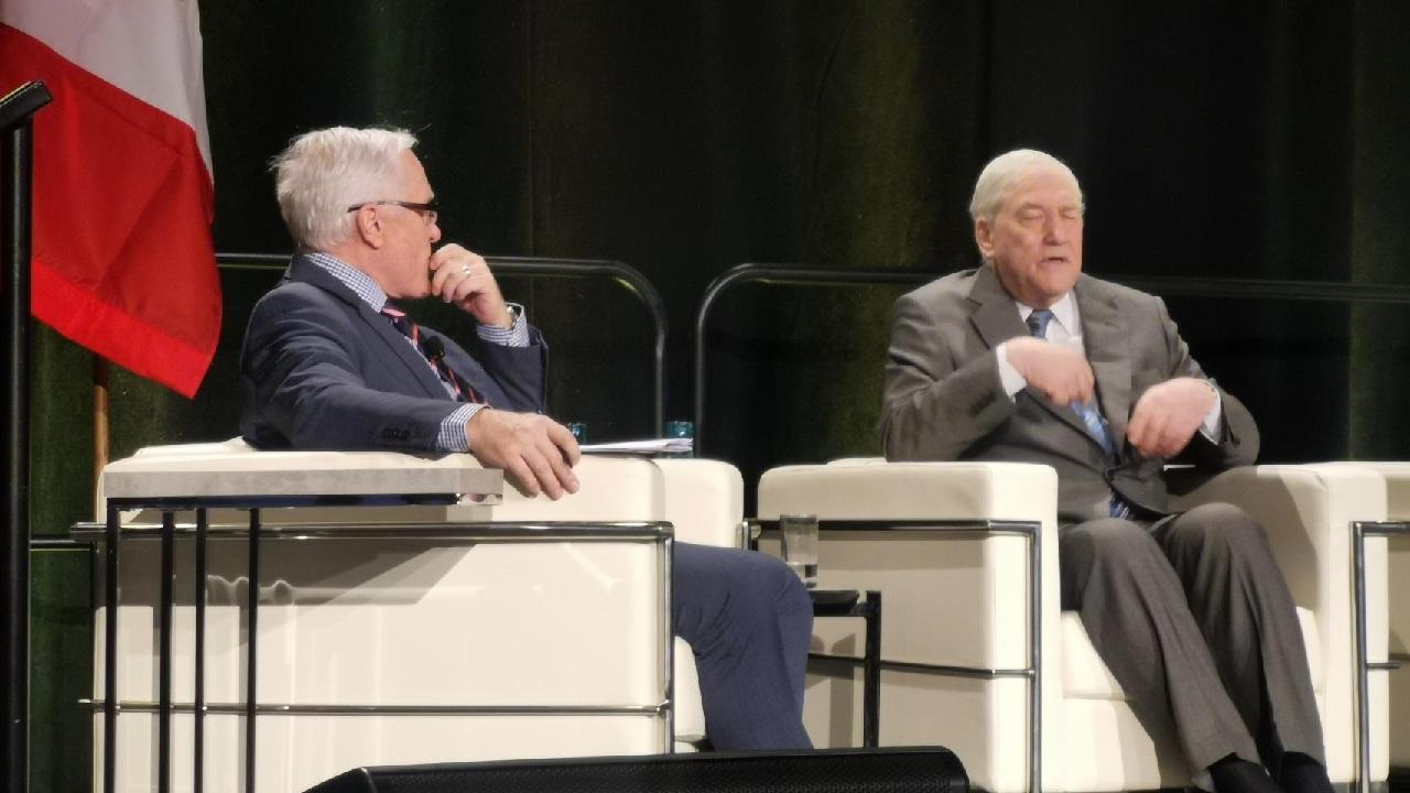 Conrad Black defends capitalism, America in Value of Alberta keynote speech hitting on climate change