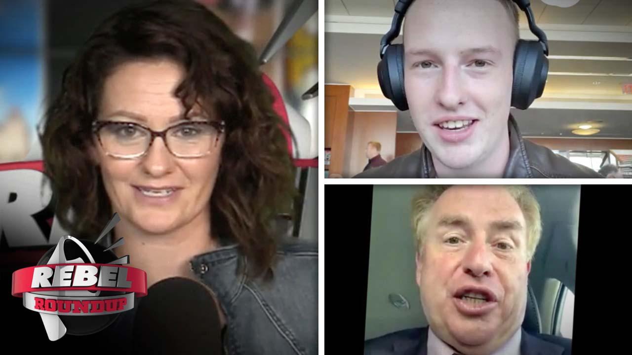 David Menzies, Keean Bexte and Sheila Gunn Reid