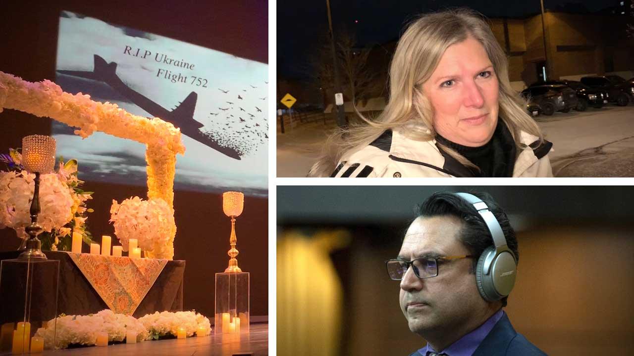 MP Majid Jowhari absent from vigil for Ukrainian plane crash victims in Toronto