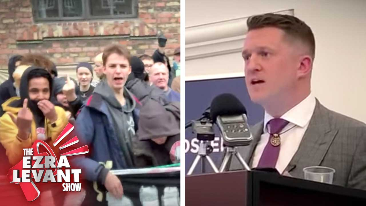 Tommy Robinson in Copenhagen: Police escorts, Antifa and the war for free speech