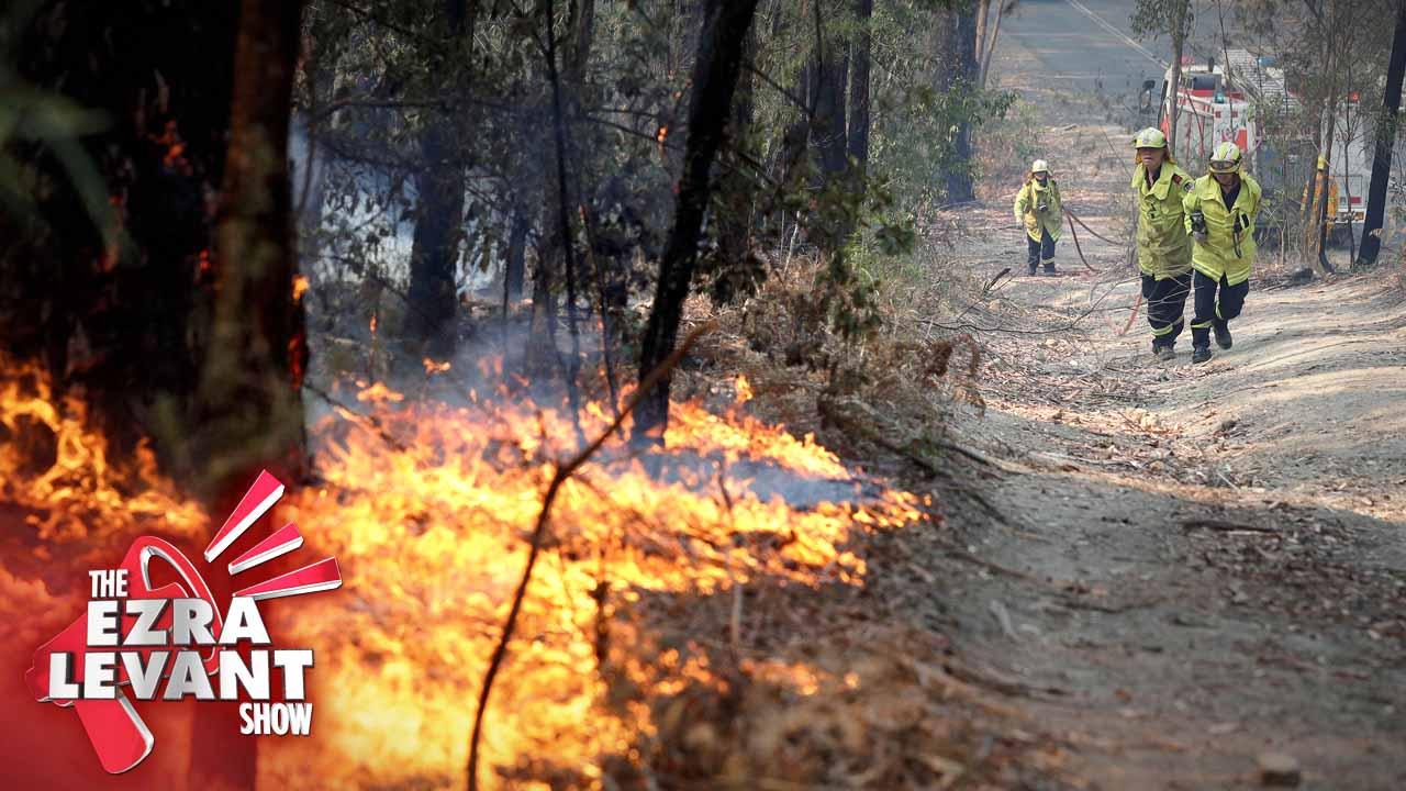 Climate Change, or Arson in Australia?