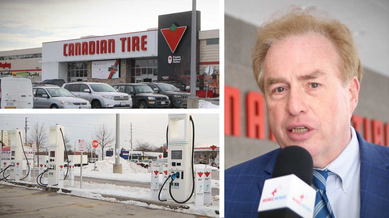 """Let them pay for it!"" Federal government gives Canadian Tire $2.7 million for electric car chargers"