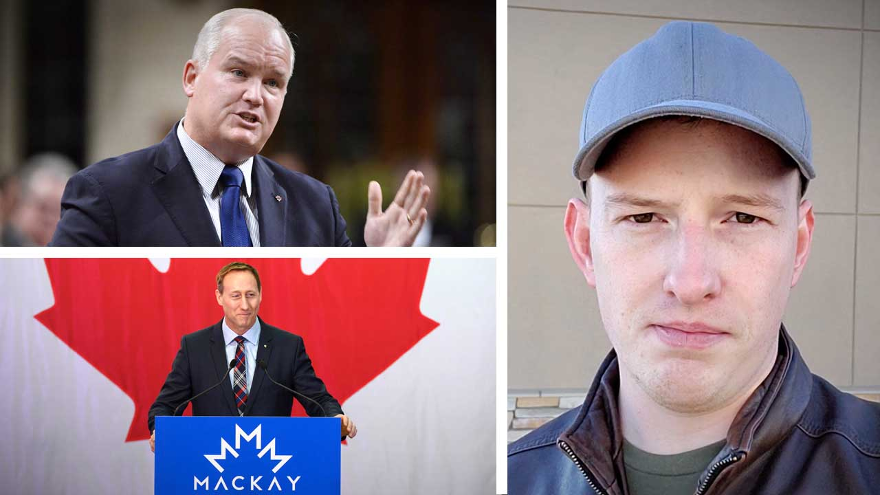 Peter MacKay's logo design stolen? Erin O'Toole joins the Conservative Party leadership race