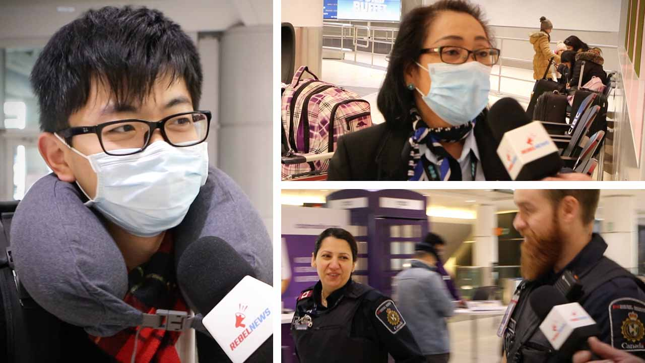 Wuhan virus: Toronto arrivals from China say no special screening at Pearson Airport