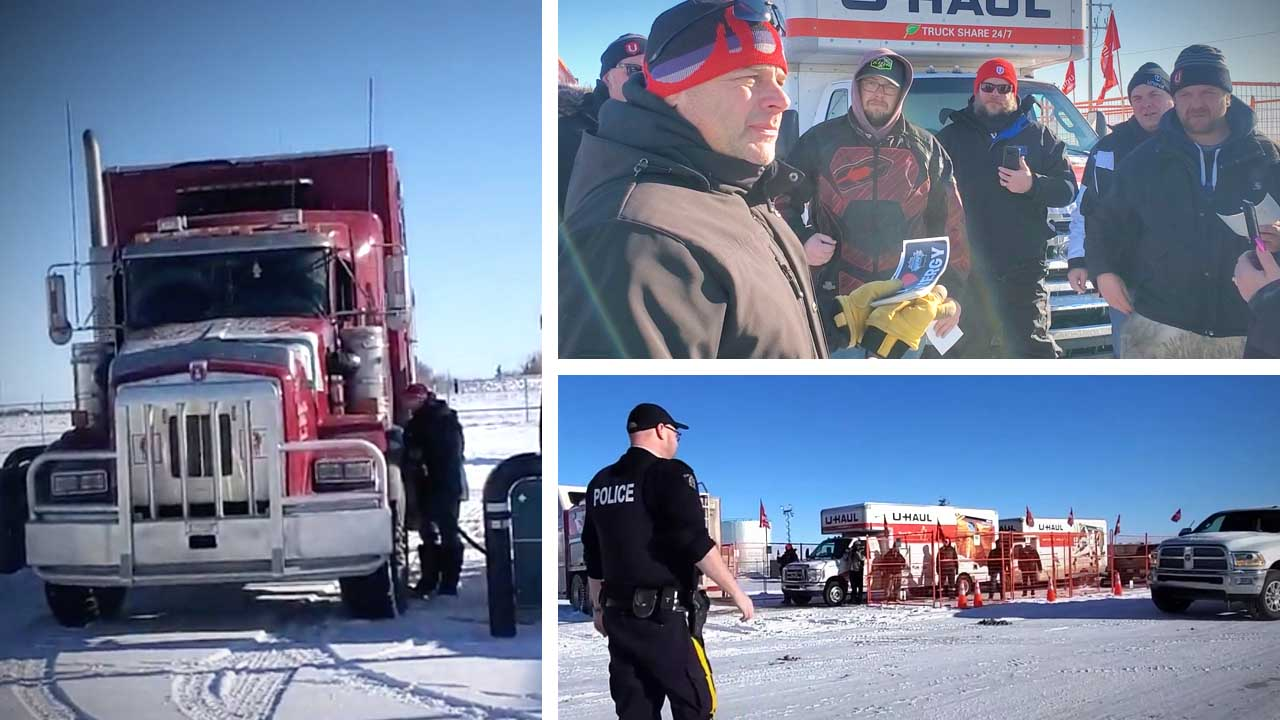 """""""We can't have unions holding everyone hostage"""": Unifor's Fuel Co-op protest meets resistance"""