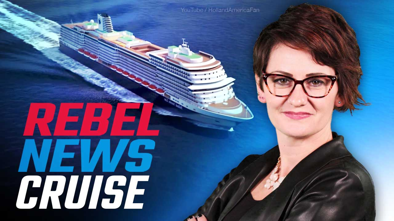 Rebel News is cruising to Alaska! Book NOW to join us July 4-11, meet your crew!
