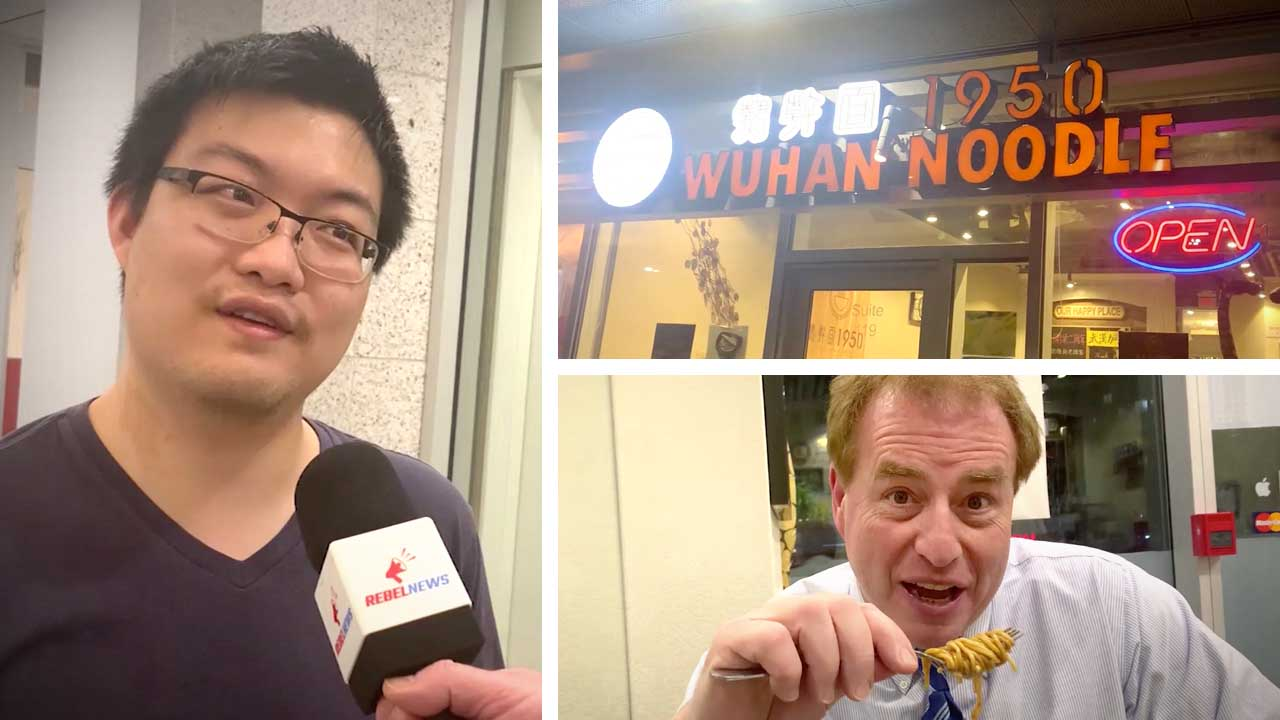 Little Wuhan Noodle REVIEW: David visits restaurant targeted by coronavirus trolls
