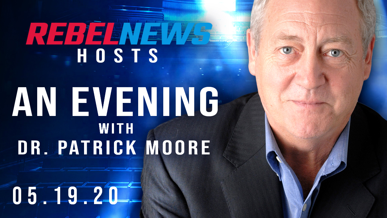 Rebel News presents Dr. Patrick Moore's de-platformed speech in Regina